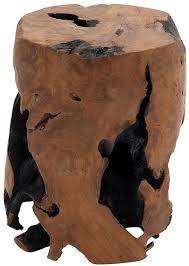 wood stump furniture. Rustic Teak Wood Tree Stump Table Furniture P
