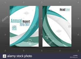 Annual Report Cover Template Blue Wave Annual Report Cover Template Brochure Flyer Template 24