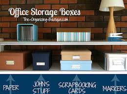 Office Storage Boxes Decorative