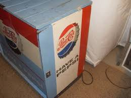 Antique Pepsi Vending Machine Cool Vintage Pepsi Vending Machine 48 Cent Ideal 48 Cooler Antique Sign