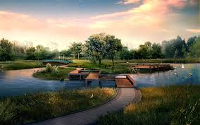 Digital Japanese Garden 2434 Wallpapers And Free Stock