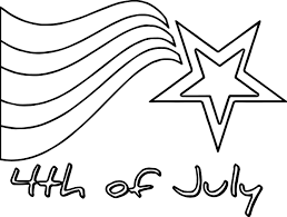 Small Picture 4th Of July Star Coloring Page Wecoloringpage