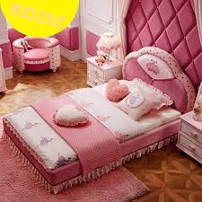 unique kids bedroom furniture. modern pink color upholstered unique kids princess bedroom furniture sets bf0770345