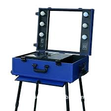makeup station with lights makeup case with mirror aluminum make up cases professional station lighted portable