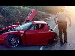 Bugatti Chiron Laferrari Lamborghini Supercar Crash