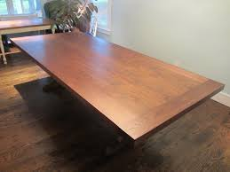 Walnut Dining Table  Feet Long  Feet Wide Tables Pinterest - Walnut dining room furniture