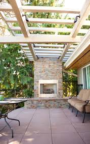 interior delectable outdoor brick gas fireplace design ideas plus glory white ceiling pergola design also