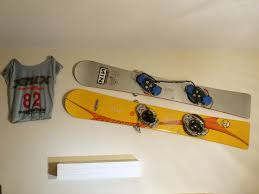 snowboard rack from doorstops