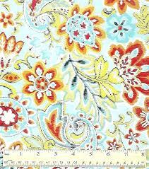 paisley wall art pattern canvas keepsake calico cotton fabric bright fl unusual decor print home a and elephant fusion pa