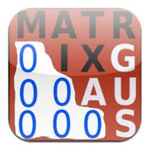 Resultado de imagen de imagen de matrices matematicas