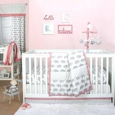 the peanut elephant crib bedding collection in grey bed bath beyond shell bella set