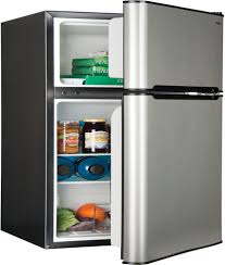 haier mini refrigerator. haier hc31tg42sv - stainless steel compact refrigerator from mini r