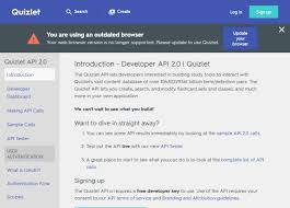 Charts And Graphs Quizlet Quizlet Flashcards Api Overview Documentation
