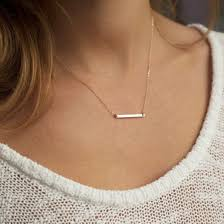 jewels accessories luxe jewelry crystal bar necklace dainty necklace gold bar necklace gold necklace long