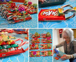... Most Christmas Gifts Made From Candy Cosy 24 Quick And Cheap DIY Ideas  Amazing ...
