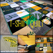Faith in Fear: T-Shirt Quilt {Introduction} & T-Shirt Quilt {Introduction}. A little note before we get started: I  originally posted this tutorial on my old blog that I have since taken down. Adamdwight.com