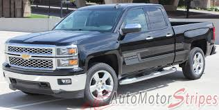 2014-2018 Chevy Silverado Stripes Shadow Truck Side Body Vinyl ...