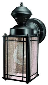 heath zenith heath zenith 150 degree shaker cove mission lantern oil rubbed bronze finish motion activated to detect movement up to 30 ft uses one