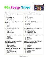 What musician was deported from japan in the 1980s for possession of marijuana? Free Printable 80s Songs Trivia Free Printable 80s Songs Trivia Quiz That You Can Share With Your Friend Fun Trivia Questions 80s Songs Music Trivia Questions