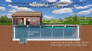 Concrete Cistern Tank Design Get Best Quality Fire Protection Tanks Water Storage