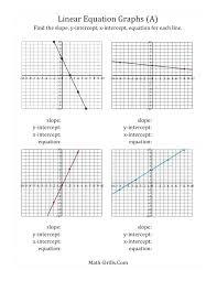 slope intercept form answers math writing slope intercept form math write equation in slope intercept form