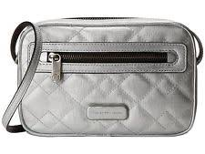 Marc Jacobs Sally Quilted Metallic Leather Crossbody Bag M0005454 ... & Marc by Marc Jacobs Quilted Metallic Silver Sally Crossbody Bag Purse $198  (1) Adamdwight.com