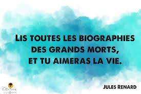 Lis Toutes Les Biographies Des Grands Morts Et Tu Aimeras La Vie