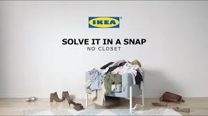 no closet solve it in a snap by ikea