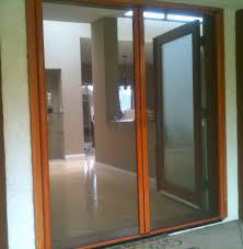 Simple Pella Sliding Screen Door Parts With Wooden Frame Doors ...