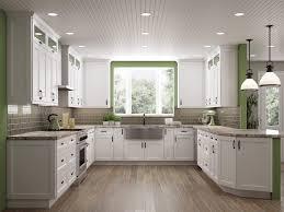 shaker white classic kitchen