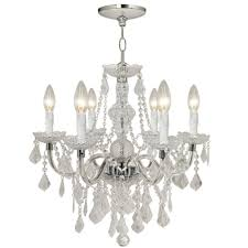spectacular inspiration crystal chandelier home depot chair halo cleaner small innovactmcom appealing 5 charming canada silver