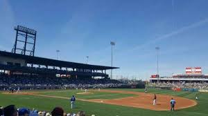 Sloan Park Section 118 Home Of Chicago Cubs Mesa Solar Sox