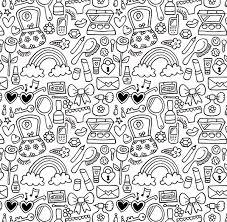 Doodle Patterns Mesmerizing Doodle Patterns On Behance
