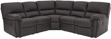 leighton leather faux leather reclining
