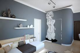 master bedroom decorating ideas gray. marvelous grey white manga wall decor with flating shelves. home〉 bedroom〉impressive gray master bedroom ideas decorating .