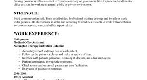 Example Of Resume For Applying Job Resume Template