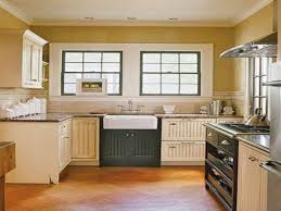 Small Cottage Kitchen French Country Cottage Kitchen U Shaped White Maple Wood Kitchen