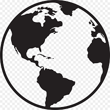 Globe Earth Clip Art Vector Map Of The World Png Download 1800