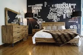 Modern Light Wood Furniture Modrest Sala Modern Light Wood Bedroom Set Modern Bedroom