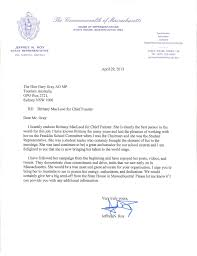 letter of recommendation send bmac down under letter of recommendation from jeff roy massachusetts state representative