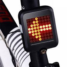 64LED MTB Bike Bicycle Tail Light USB <b>Brake</b> Turn signal Lamp ...