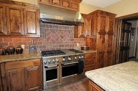 Love this brown brick backsplash get the same look DIY with our faux brick  panels easy