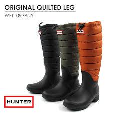 TIGERS BROTHERS CO. LTD - FLISCO - | Rakuten Global Market: Hunter ... & Hunter rain boots rubber boots ladies HUNTER QUILTED LEG WFT1093RNY [SK] Adamdwight.com