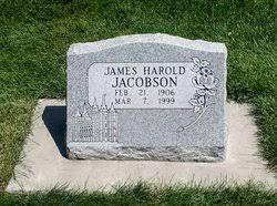 James Harold Jacobson (1906-1999) - Find A Grave Memorial