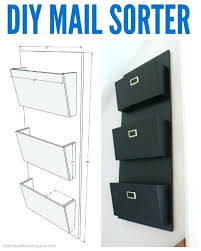 plans my letter mail sorter with free plans wood organizer