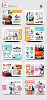 Indesign Magazine Templates Indesign Pro Magazine Template Kalonice Diseño De