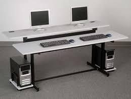 tech furniture. Split Level Computer Table By Balt Tech Furniture C