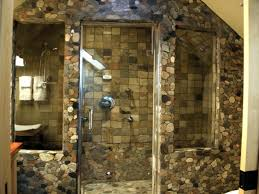 walk in shower lighting. Excellent Bathroom Design With Stone Walk In Shower Ideas: Natural For Lighting A
