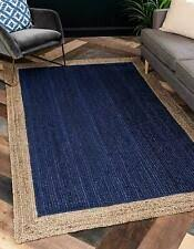 Джут голубые ковры на пол | eBay