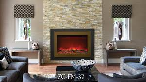 sierra flame electrical fireplace zc fm 37 mix
